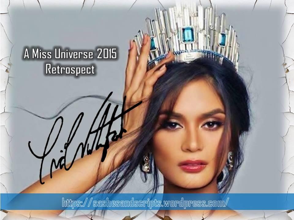 A Miss Universe 2015Retrospect